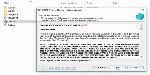 Hướng dẫn cài đặt Driver máy in Canon LBP 2900 hình số 5