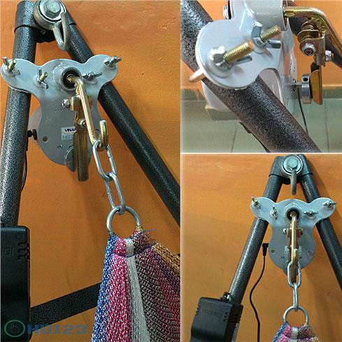 Máy đưa võng tự động Vinanoi VN365N hình 3
