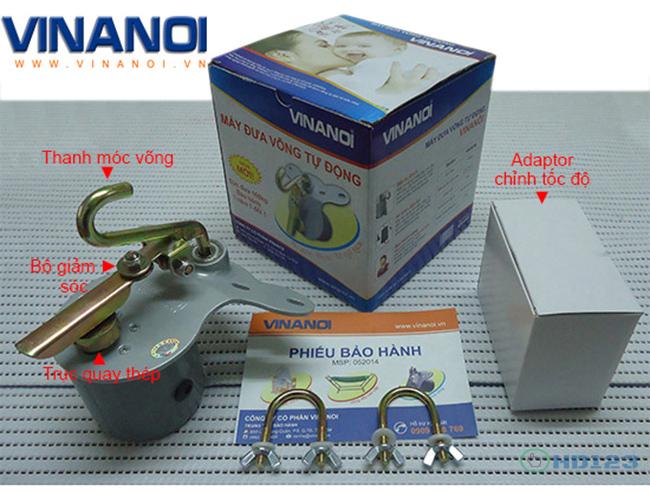 Máy đưa võng tự động Vinanoi VN365N hình 7