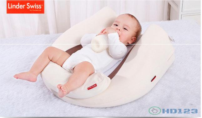 Gối cao su non cho bé V- Baby G2