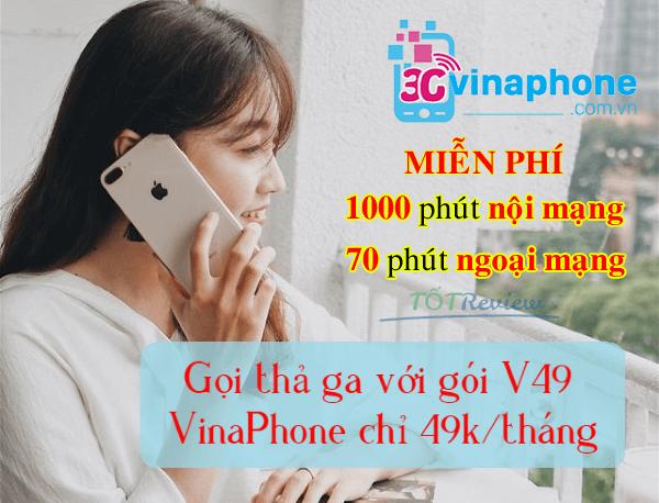 Cách đăng ký gói V49 Vinaphone