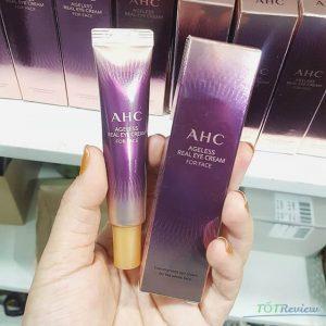 Kem trị thâm mắt AHC Ageless Real Eye Cream For Face