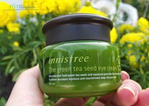 Kem trị thâm mắt Innisfree Green Tea Seed Eye Cream