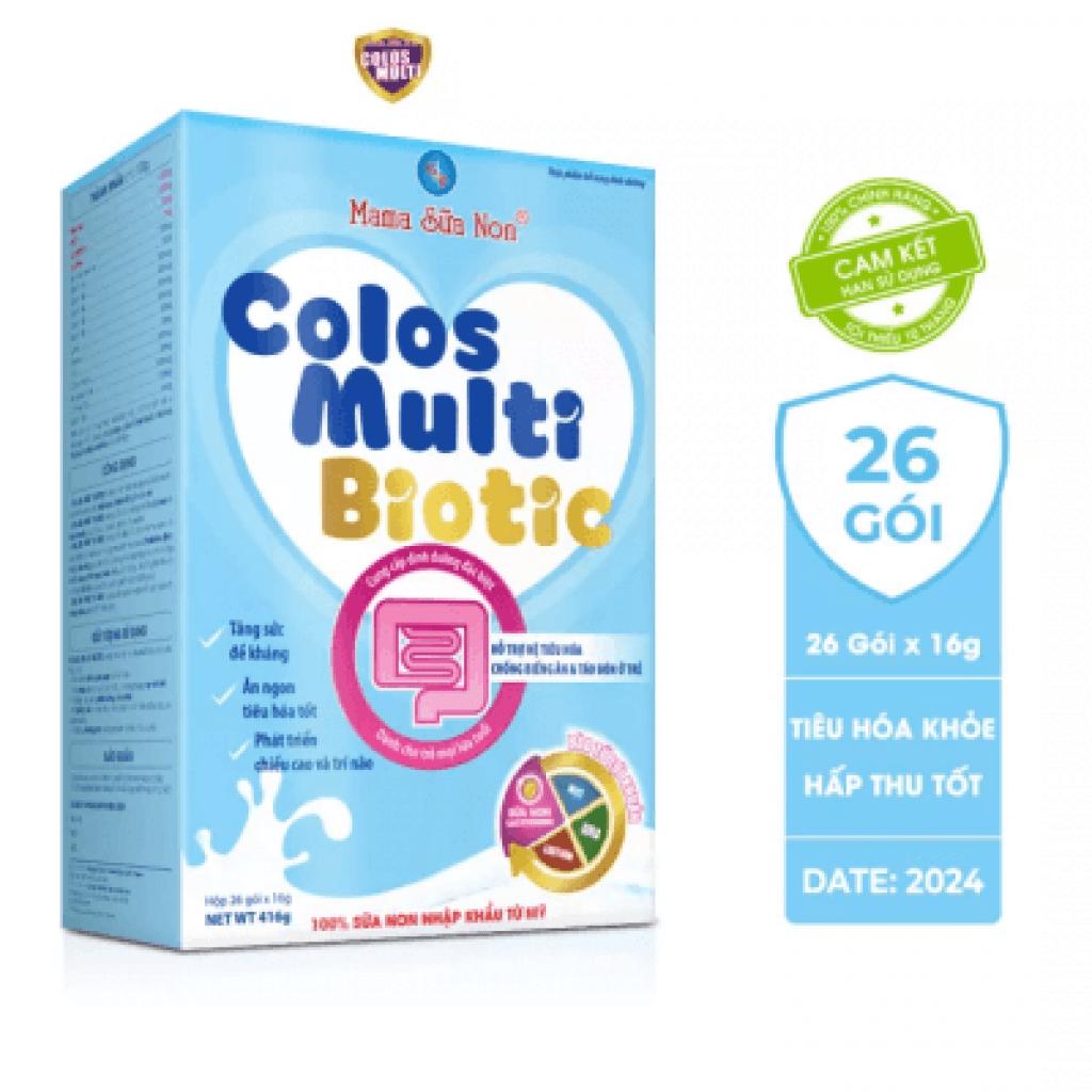 Đánh giá dòng sữa non MaMa Colos Multi chuyên biệt dành cho trẻ 29