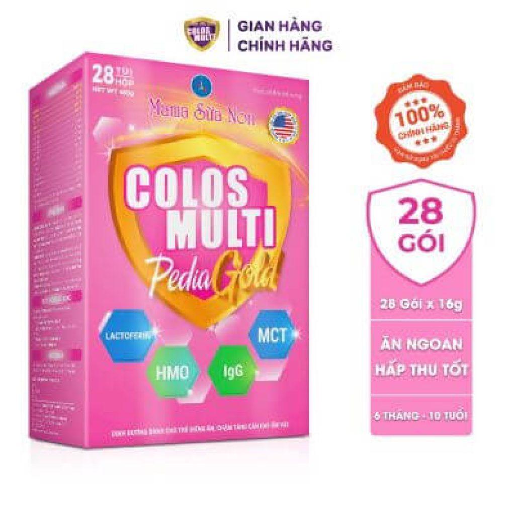 Đánh giá dòng sữa non MaMa Colos Multi chuyên biệt dành cho trẻ 28
