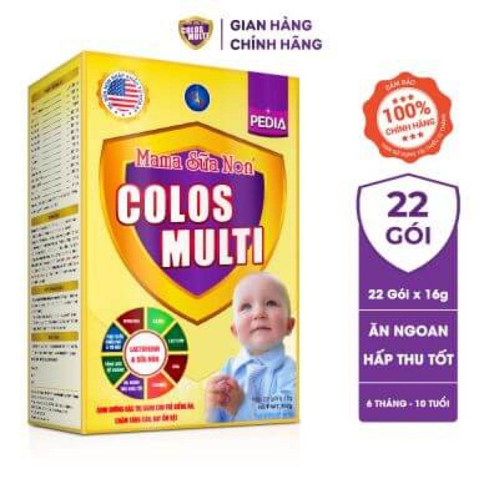 Đánh giá dòng sữa non MaMa Colos Multi chuyên biệt dành cho trẻ 26