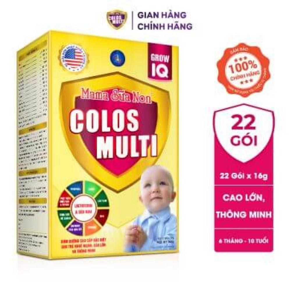 Đánh giá dòng sữa non MaMa Colos Multi chuyên biệt dành cho trẻ 27