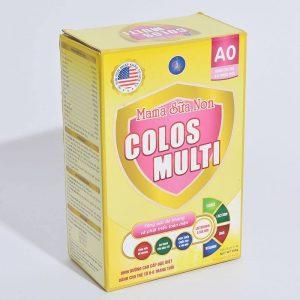 Đánh giá dòng sữa non MaMa Colos Multi chuyên biệt dành cho trẻ 8
