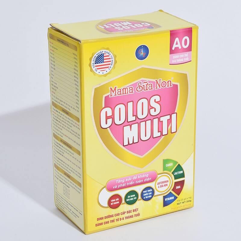 Đánh giá dòng sữa non MaMa Colos Multi chuyên biệt dành cho trẻ 18