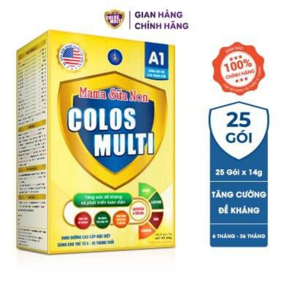 Đánh giá dòng sữa non MaMa Colos Multi chuyên biệt dành cho trẻ 25