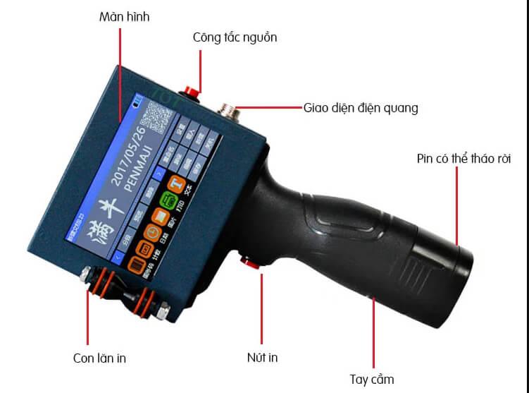 Máy in cầm tay Promax Printer N3