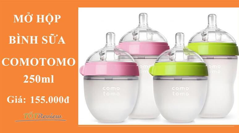 [Video] - Mở hộp bình sữa Comotomo 250ml