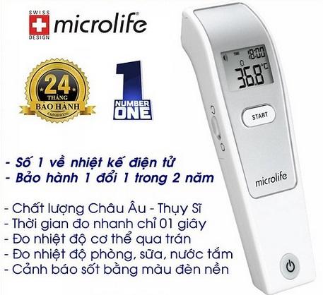 Nhiệt kế điện tử Microlife