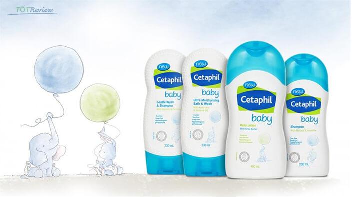 Sữa tắm cho trẻ sơ sinh Cetaphil Baby
