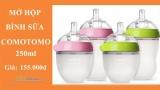 [Video] – Mở hộp bình sữa Comotomo 250ml
