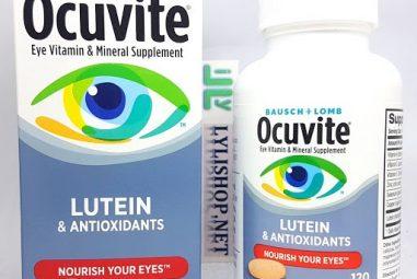 Top 7 loại thuốc bổ mắt tốt nhất hiện nay