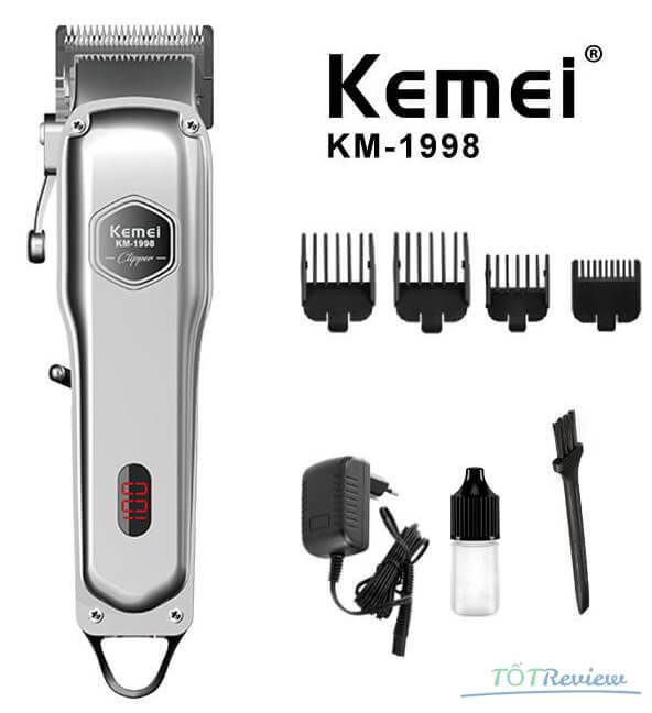 Tông đơ cắt tóc cho bé Kemei 1998